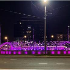 SOLIDARNOST JE OSOBINA KOJA KRASI BEOGRAĐANE: Glavni grad večeras svetli u bojama koje nose jaku simboliku (FOTO)