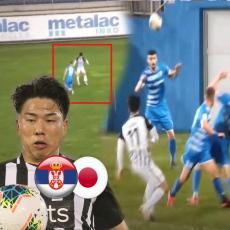 SOLO PRODOR, GOLČINA I DIGNUTA TRI PRSTA: Vidite šta je Asano počinio u Milanovcu! Šut sa IVICE KAZNENOG (VIDEO)