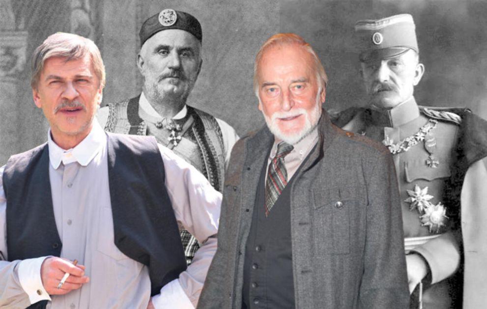 ŠOTRA PROMENIO ULOGE ZA FILM I SERIJU KRALJ: Žarko Laušević igra kralja Nikolu, a Tanasije Uzunović Živojina Mišića