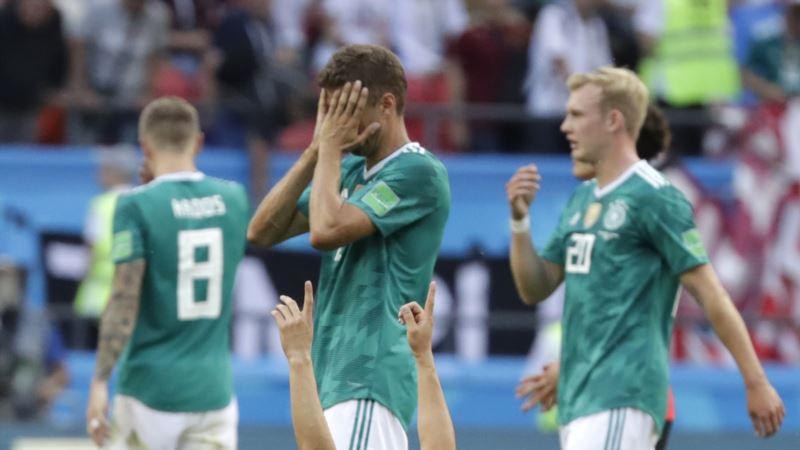 Kraj za Srbiju i Nemačku, Švedska, Meksiko, Brazil i Švajcarska idu dalje
