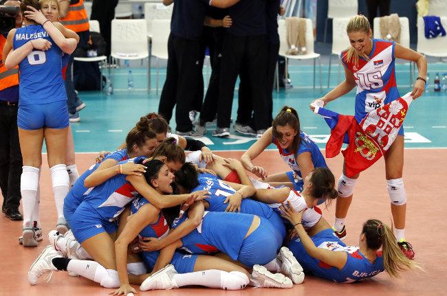 SP - Srbija u grupi sa Brazilom