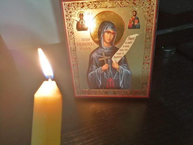 SPC i njeni vernici danas slave dan Prepodobne mati Paraskeve Svete Petke