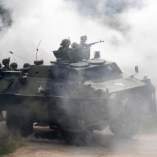 SPEKTAKL NA OREŠCU - SAVRŠENA ZAVRŠNICA VOJSKE SRBIJE: Raketnim bacačima neutralisali neprijateljsku grupu (FOTO)