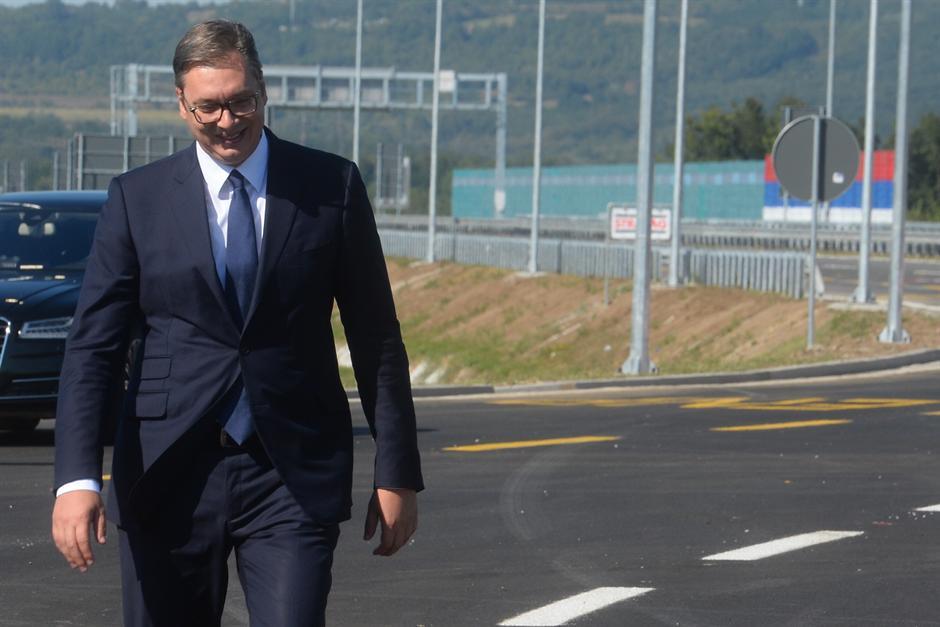 SPEKTAKL: Autoput MILOŠ VELIKI - na ponos Srbije! FOTO
