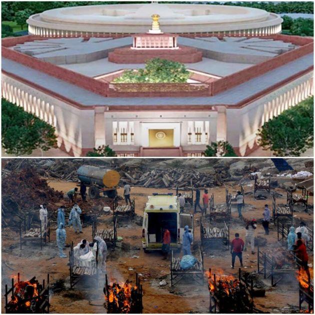 SPOMENIK MODIJEVOM EGU: Dok hiljade Indusa umire po ulicama, on gradi zgradu parlamenta koja bi mogla da finansira 40 bolnica!