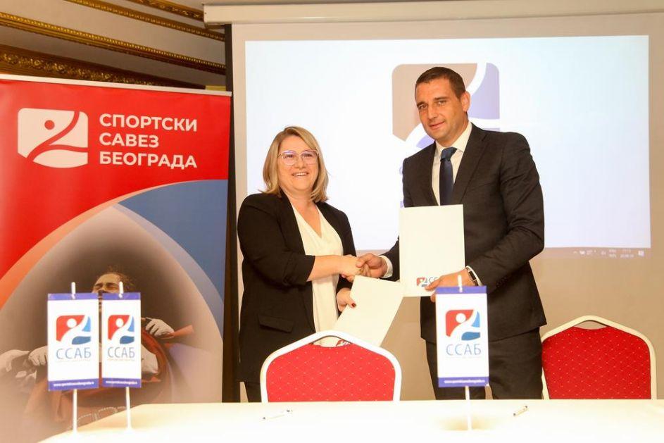SPORTSKI SAVEZ BEOGRADA: Antidoping agencija Republike Srbije i Fakultet za sport i fizičko vaspitanje novi partneri SSAB!