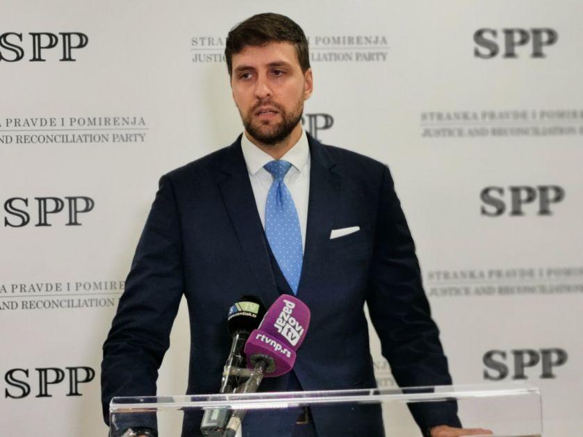 SPP pod brojem (8) na parlamentarnim izborima
