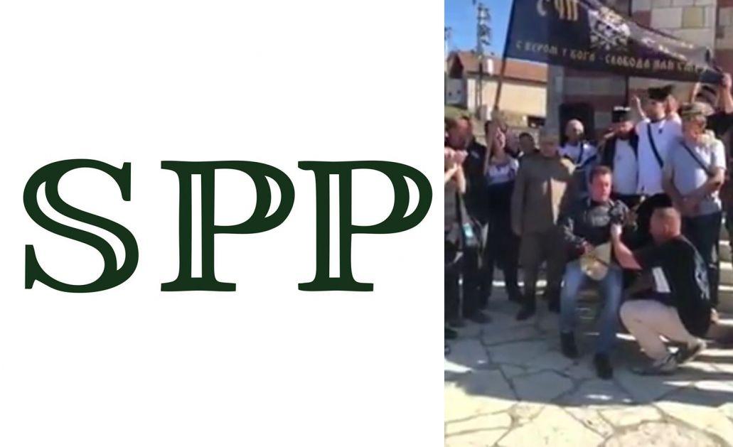 SPP podnio krivične prijave protiv učesnika i organizatora četničkog sabora u Riljcu
