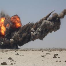 SPREČEN PAKLENI PLAN HUTA: Oboren dron opremljen velikom količinom eksploziva! (VIDEO)