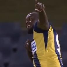 SPRINT, PA RAKETA LEVICOM: Pogledajte prva dva gola Bolta u fudbalskoj karijeri (VIDEO)