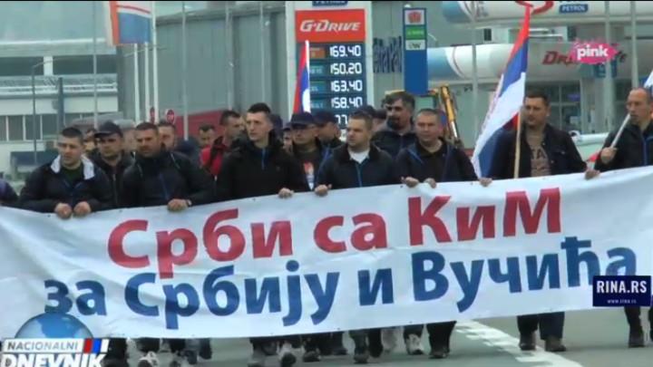 SRBI SA KOSOVA NA PUTU DO BEOGRADA! Predsednik Vučić zaslužuje našu podršku! To je najmanje što možemo da učinimo za njega