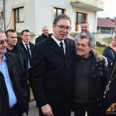 SRBIJA DANAS SA PREDSEDNIKOM U BUGOJNU: Vučić posetio groblje predaka i govorio o TRAGIČNOJ SUDBINI PORODICE VUČIĆ