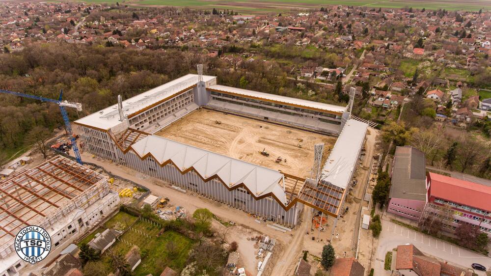 SRBIJA DOBIJA FANTASTIČAN STADION: Velelepni objekat u završnoj fazi izgradnje! FOTO