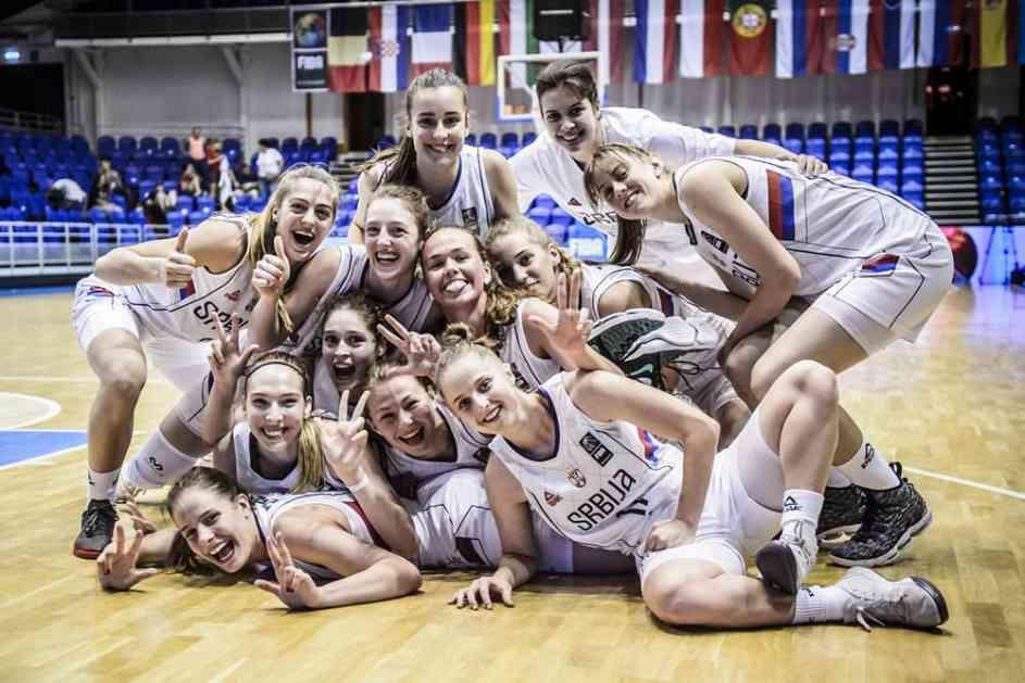 SRBIJA NAPADA MEDALJU: Mlade košarkašice Srbije u polufinalu Evropskog prvenstva