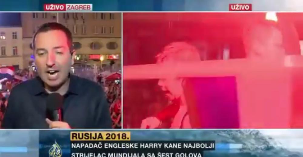 SRBIJA SE PLASIRALA U FINALE SVETSKOG PRVENSTVA! Lapsus voditelja Al Džazire usred Zagreba uzdrmao region! (VIDEO)