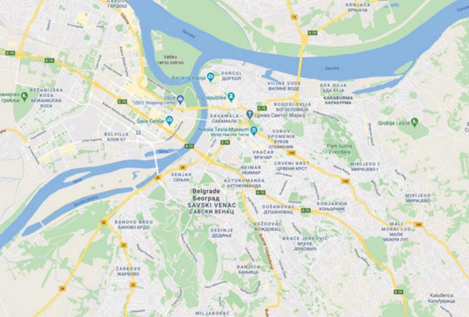 Karta Beograda Po Opstinama Superjoden
