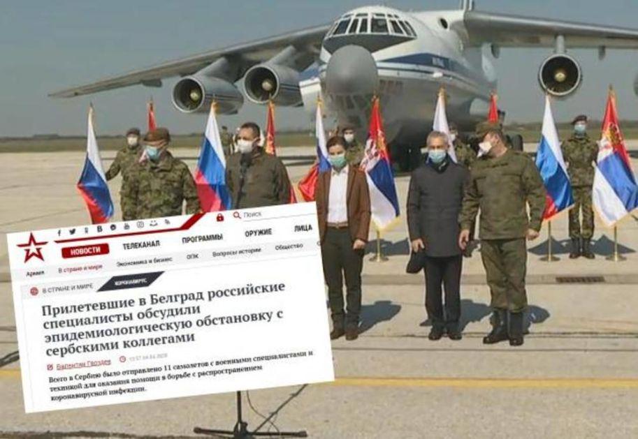 SRBIJA TEMA BROJ JEDAN U RUSIJI: Evo kako ruski mediji izveštavaju o pomoći koju je Rusija uputila Srbiji! (VIDEO)