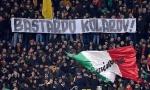 SRBIN PONOVO NA UDARU NAVIJAČA ROME: Na tribinama osvanuo transparent Kopile Kolarov!