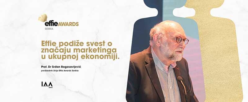 """SRĐAN BOGOSAVLJEVIĆ: """"Effie podiže svest o značaju marketinga u ukupnoj ekonomiji"""""""