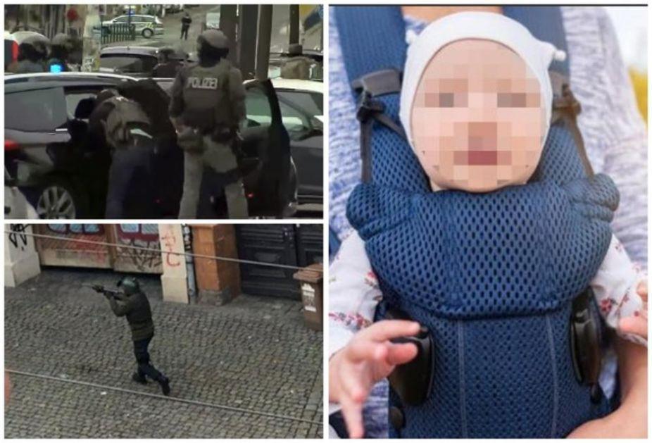 SRPKINJA SA BEBOM ZAROBLJENA NA STANICI U NEMAČKOJ: Trebalo je da se ukrca na voz kada je otpočeo teroristički napad i pale prve žrtve, žena se našla usred PAKLA i sada ne zna kako će da se vrati u Beograd! (VIDEO)