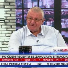 SRPSKA POLICIJA MORA ZAPUCATI! Šešelj upozorio Albance: Otkrio koje dve zemlje stoje iza divljanja na Jarinju i Brnjaku
