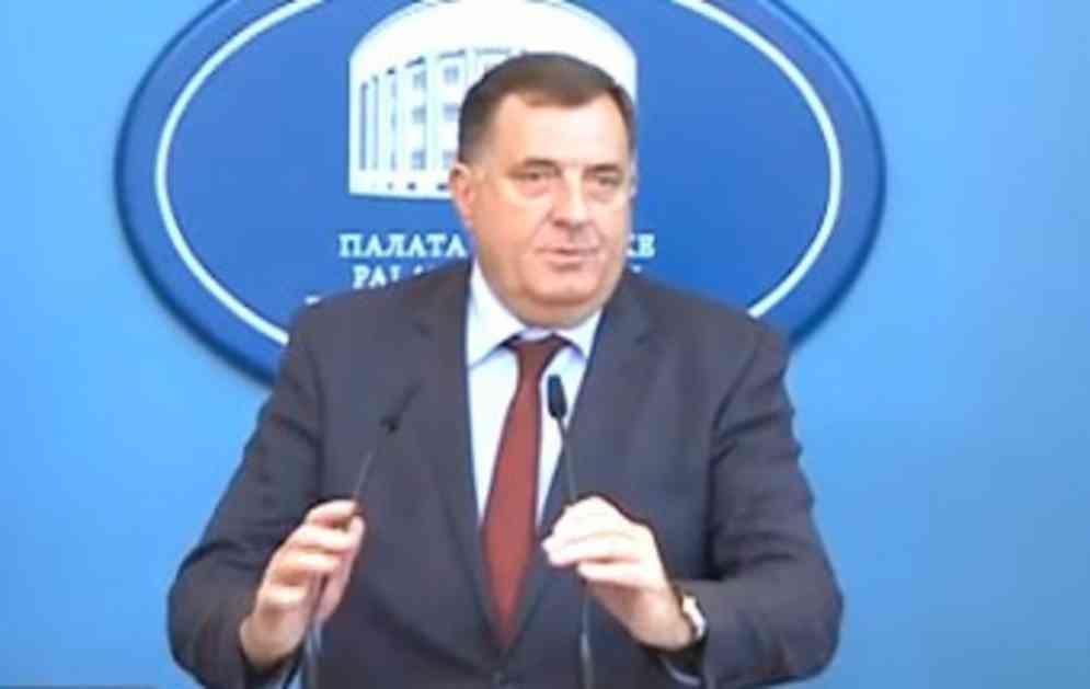 SRPSKI ČLAN PREDSEDNIŠTVA BIH O PRVIM POTEZIMA NA NOVOJ FUNKCIJI Milorad Dodik: Kusturicu ću odmah postaviti za savetnika