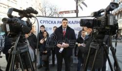 SRS zahteva zabranu ulaska u Srbiju Krivokapiću i svima koji su izglasali Rezoluciju o Srebrenici