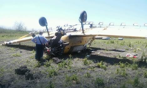 SRUŠIO SE AVION U APATINU Pilot lakše povređen: Da sam uleteo u šumu, ne bih preživeo
