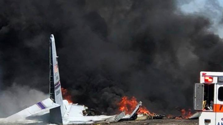 SRUŠIO SE AVION U DUBAIJU: Četiri osobe poginule!
