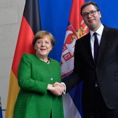 ŠTA JE MERKELOVA PORUČILA VUČIĆU? Nemačka kancelarka poslala snažnu poruku Srbiji (FOTO)