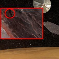 ŠTA JE OVO SNIMLJENO NA MARSU? Orbitalna stanica uhvatila ZASTRAŠUJUĆI PRIZOR sa površine CRVENE PLANETE (FOTO)