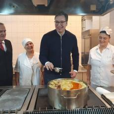 ŠTA VOLI VUČIĆ, A ŠTA PUTIN? Kuvari u Predsedništvu otkrivaju: Evo koja hrana je nezaobilazna na meniju!