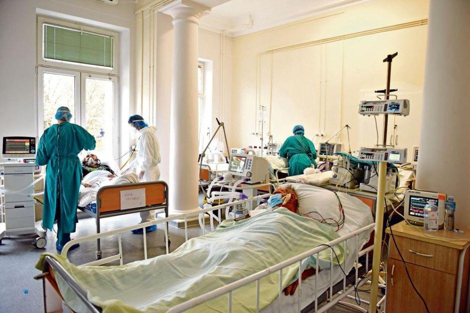 STANJE U KBC DRAGIŠA MIŠOVIĆ TEŠKO: Na lečenju 356 kovid pacijenata, sve puno ko oko, mesta više nema