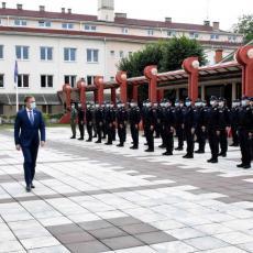 STEFANOVIĆ NA PRIJEMU NOVE GENERACIJE STUDENATA: Vi ste ljudi koji treba da štite Srbiju i obezbede sigurnost