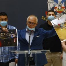 ŠTETA POČINJENA NA PROTESTIMA DOSTIGLA MILION EVRA: Vesić održao vanrednu konferenciju (FOTO)