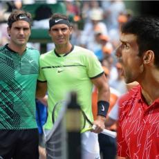 STID DA VAS BUDE: Novak postao najbolji ikad, a Federer i Nadal reagovali na način koji pokazuje samo jedno - LJUBOMORU