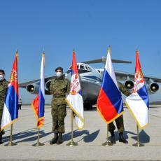 STIGLA BRATSKA POMOĆ! U Srbiju sletelo svih 11 aviona iz Rusije: Poslato osam lekarskih timova i medicinska oprema