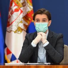 STIGLI REZULTATI: Ana Brnabić se testirala na korona virus