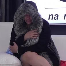 STIGLO JE SVE! Miljana se SLOMILA, pa se sakrila od svih i BRIZNULA U NEVIĐENI PLAČ! (VIDEO)