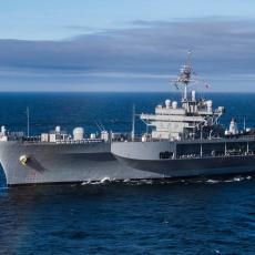 STIŽE NA GRANICU RUSIJE! Mozak američke mornarice uplovio u Baltik, dovlači ČITAVU ARMIJU za sobom (FOTO)