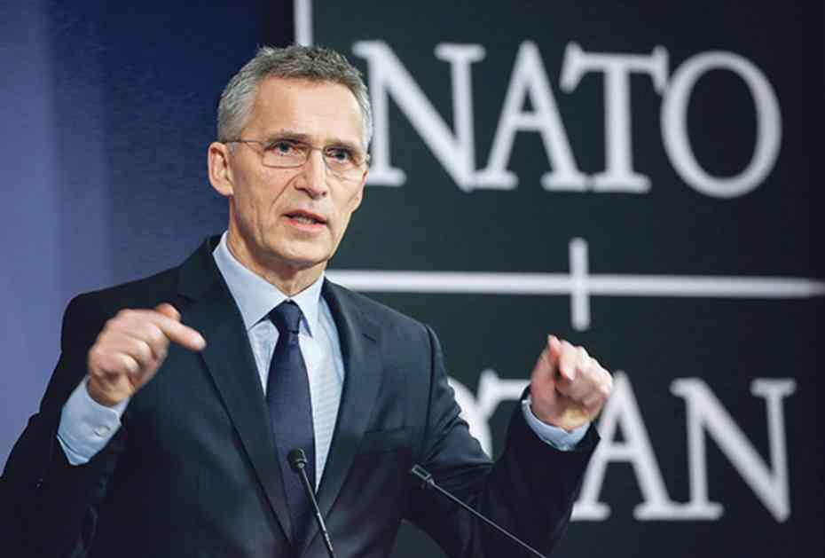 STOLTENBERG O NOVOM IMENU MAKEDONIJE: NATO snažno podržava punu primenu sporazuma
