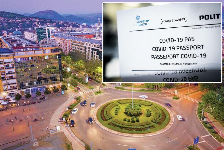 STOP KOVID DIKTATURI: Protest protiv korona mera u Podgorici!