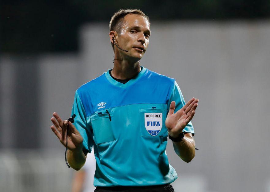 SRBIN ĆE PAMTITI OVO VEČE:  Srđan Jovanović debituje u Ligi šampiona! Srpski arbitar glavni na meču u Amsterdamu!