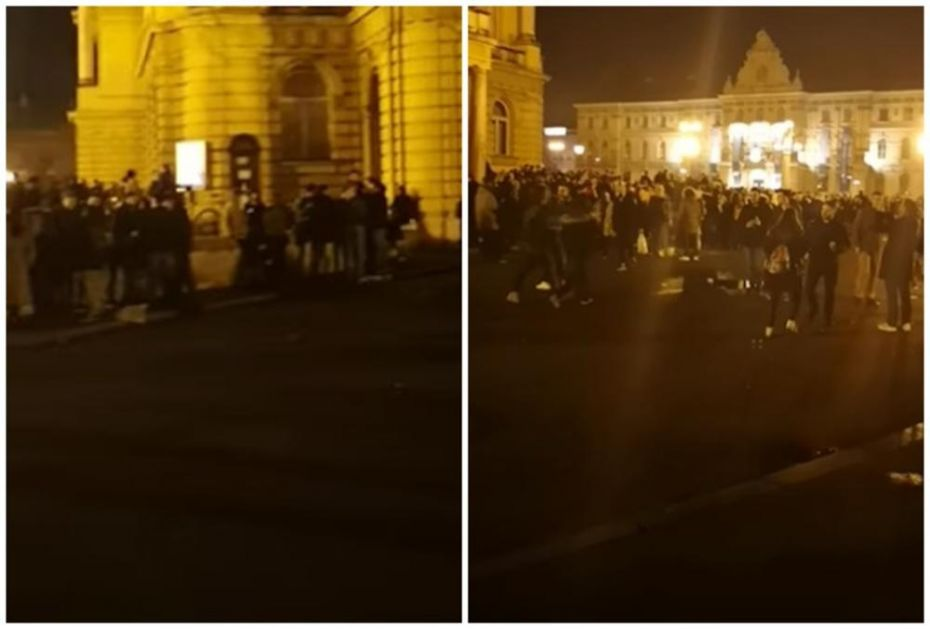 STOTINE MLADIH U ZAGREBU PRKOSE KORONI: Okupljaju se na otvorenom, izbile i masovne tuče (VIDEO)