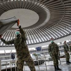 STRANI MEDIJI ODUŠEVLJENI NAŠIM SAJMOM I BORBOM SA KORONOM: Srpska Vojska je pokazala solidarnost, ublažavaju moguće posledice!
