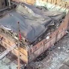 STRAŠNE SCENE U RUSIJI: Urušio se krov termoelektrane, a onda su se začuli krici ispod ruševina (VIDEO)