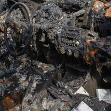 STRAVIČNI PRIZORI IZ NAGORNO-KARABAHA: Grad potpuno razoren, rakete pale pored vrtića i škole (FOTO)