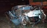 STRAVIČNO: Porodica poginula u saobraćajnoj nesreći na mostu kod sela Salaš