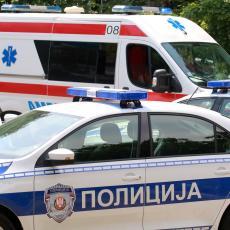 SUDAR AUTOMOBILA I KOMBIJA KOD ALEKSINCA: Tri osobe povređene