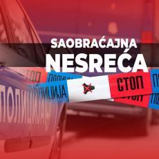 SUDAR TRAKTORA I AUTOMOBILA KOD POŽAREVCA: Dve osobe hitno hospitalizovane, stvorila se velika kolona vozila